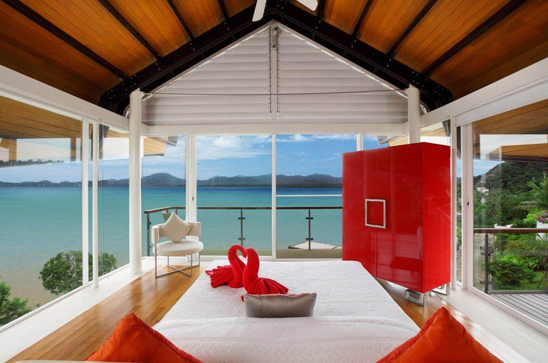 Villa Sapna Bedroom with Sea View   Cape Yamu, Phuket