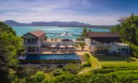 Villa Sapna Bird's Eye View   Cape Yamu, Phuket