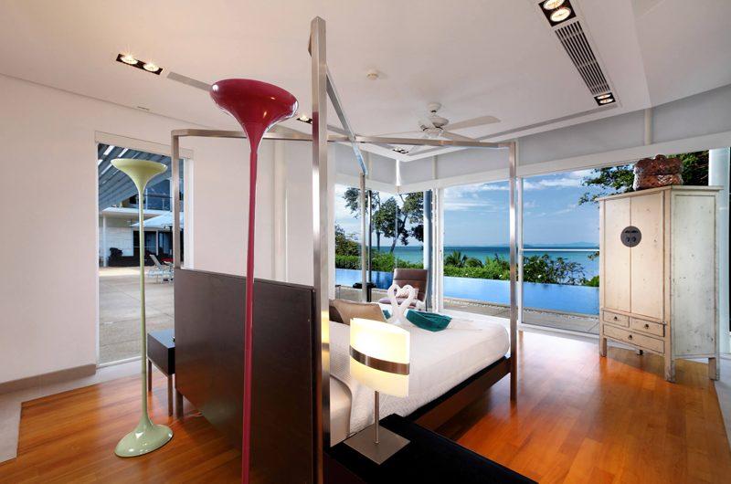 Villa Sapna Bedroom with Pool View   Cape Yamu, Phuket