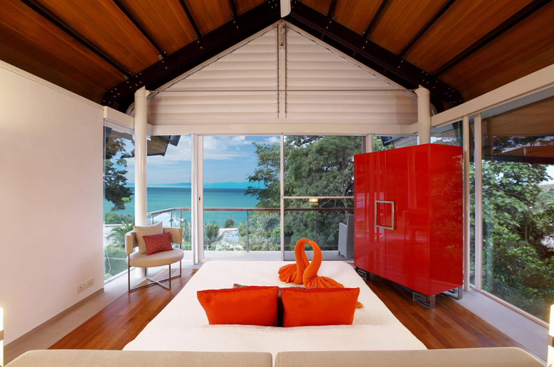 Villa Sapna Bedroom with Wardrobe   Cape Yamu, Phuket