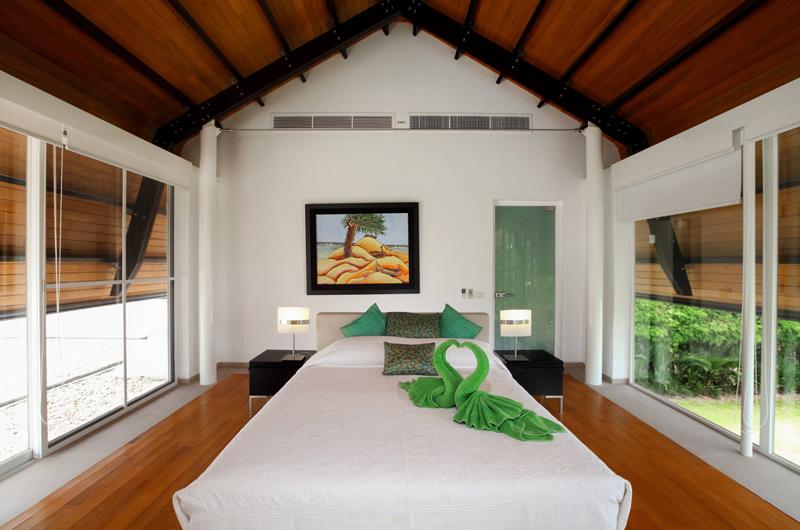 Villa Sapna Bedroom with Garden View   Cape Yamu, Phuket