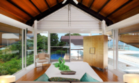 Villa Sapna Bedroom with Seating Area   Cape Yamu, Phuket
