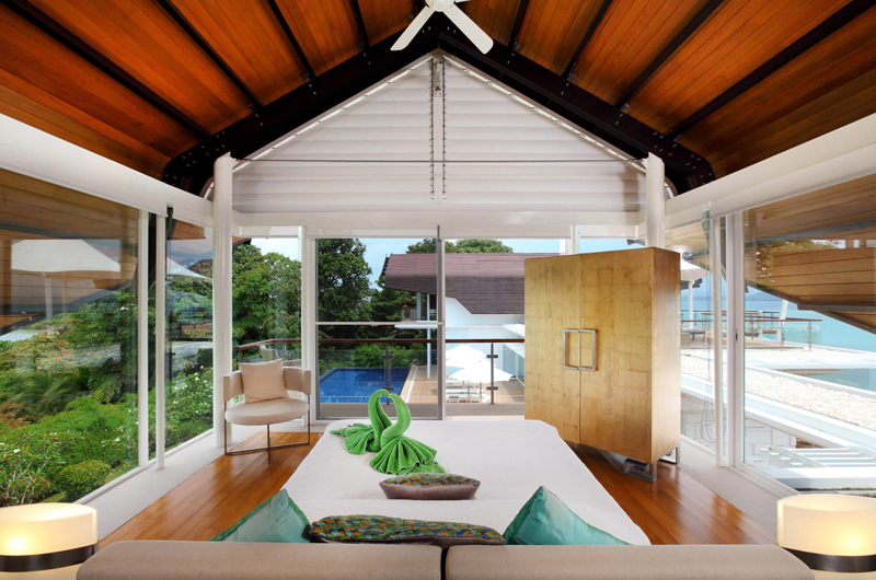 Villa Sapna Bedroom with Seating Area | Cape Yamu, Phuket