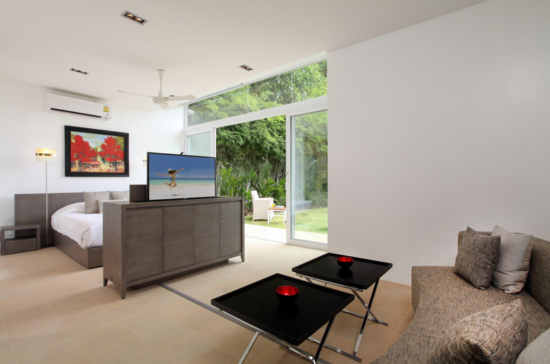 Villa Sapna Bedroom with Sofa | Cape Yamu, Phuket