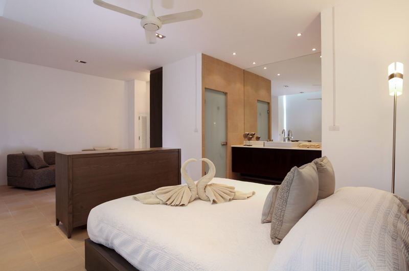 Villa Sapna Bedroom and En-suite Bathroom | Cape Yamu, Phuket