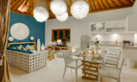4s Villas Villa Sea Kitchen and Dining Area | Seminyak, Bali
