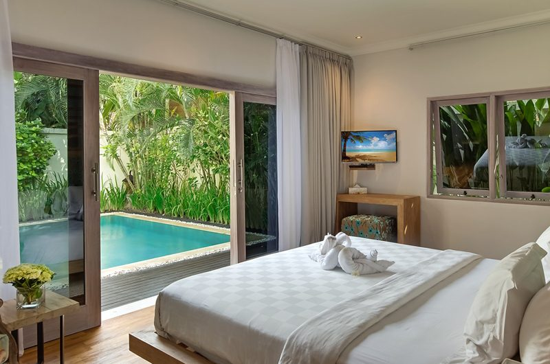 4s Villas Villa Sky Bedroom with Pool View | Seminyak, Bali