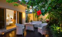 4s Villas Villa Sun Outdoor Seating Area | Seminyak, Bali