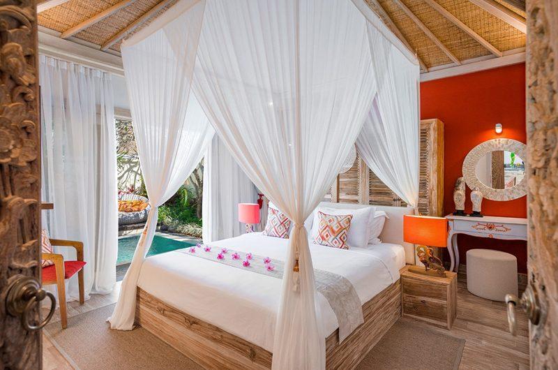 4s Villas Villa Sun Bedroom with Pool View | Seminyak, Bali
