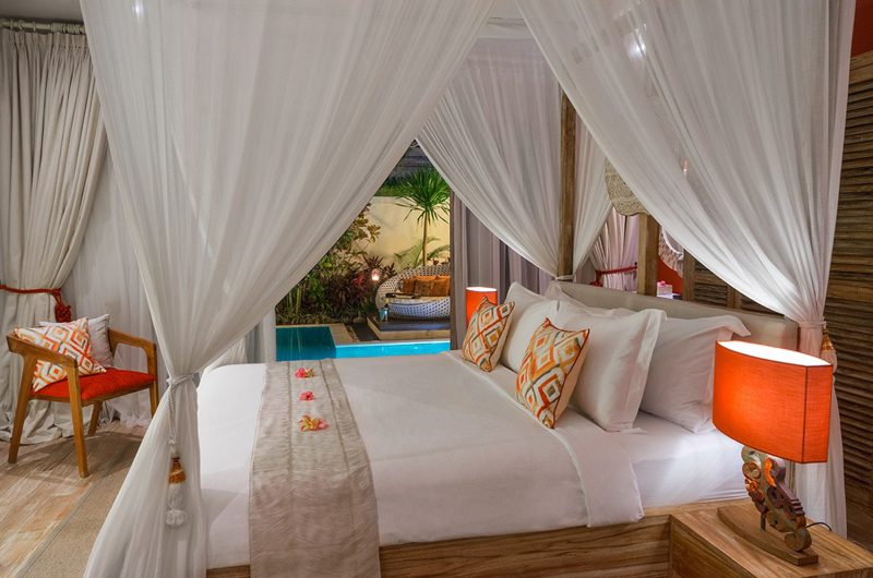 4s Villas Villa Sun Pool Side Bedroom | Seminyak, Bali
