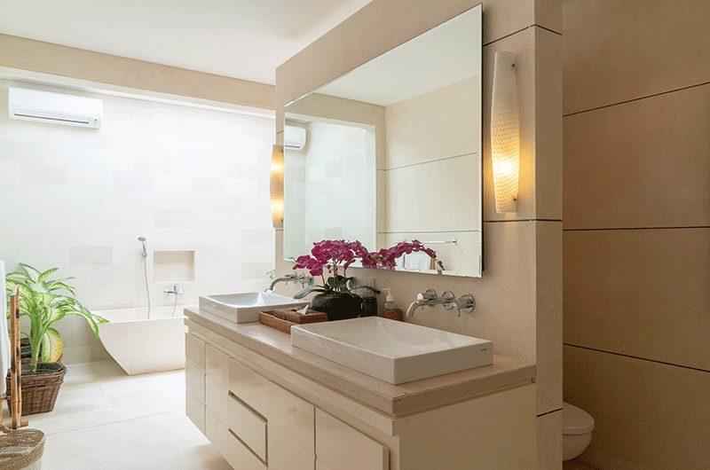 Villa Iluka Bathroom Mirror | Seminyak, Bali