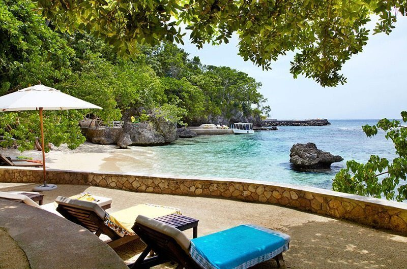 Golden Eye Sun Beds With An Ocean View | Oracabessa, Jamaica