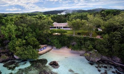 The Fleming Villa Bird's Eye View | Oracabessa, Jamaica