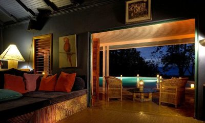 The Fleming Villa Seating | Oracabessa, Jamaica