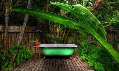 The Fleming Villa Bathtub | Oracabessa, Jamaica