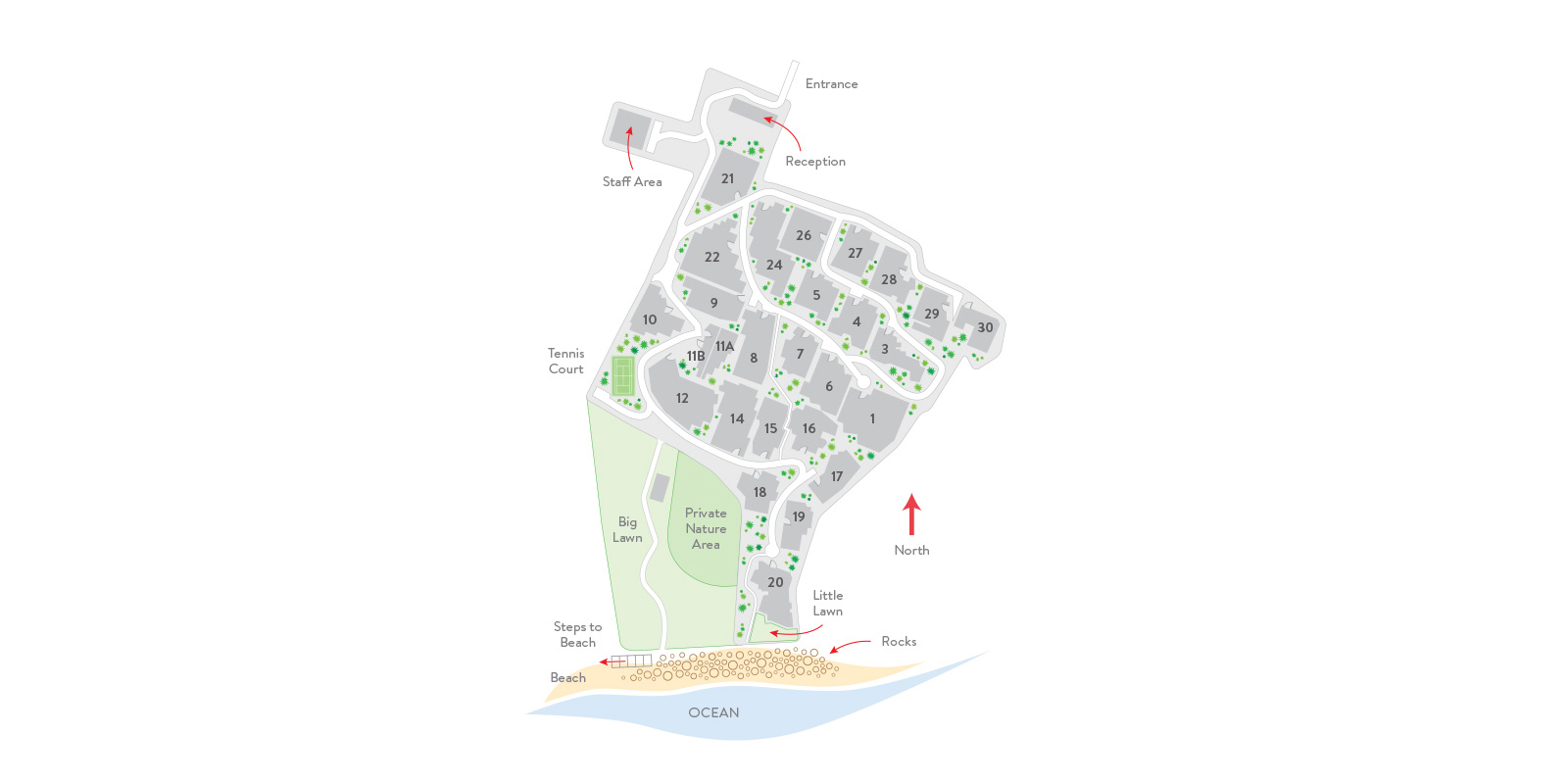 Samujana Villas Floorplan | Choeng Mon, Koh Samui