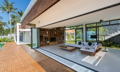 Villa Malouna Living Area | Koh Samui, Thailand