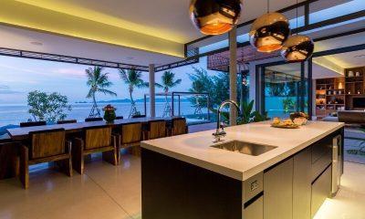 Villa Malouna Kitchen And Dining Area | Koh Samui, Thailand