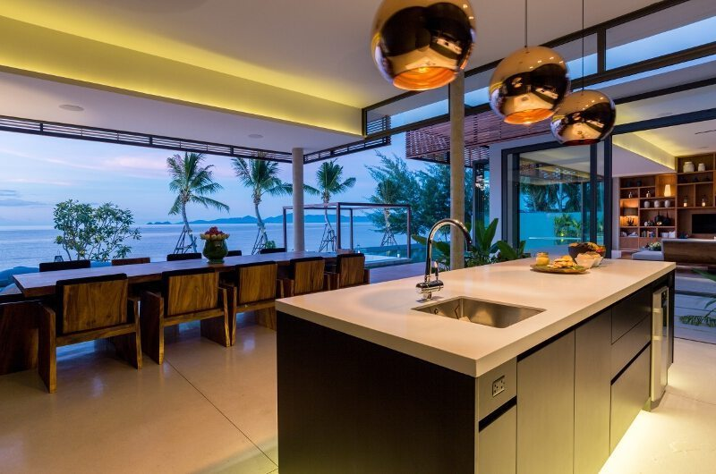 Villa Malouna Kitchen And Dining Area | Koh Samui, Thailand