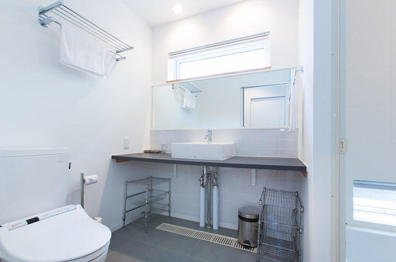Ajisai Bathroom Area | Hirafu, Niseko