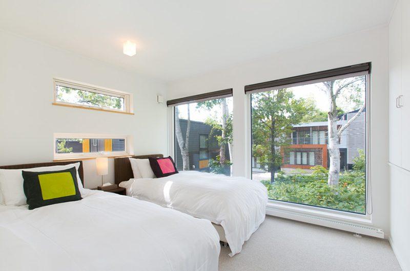 Ajisai Twin Bedroom with Views | Hirafu, Niseko