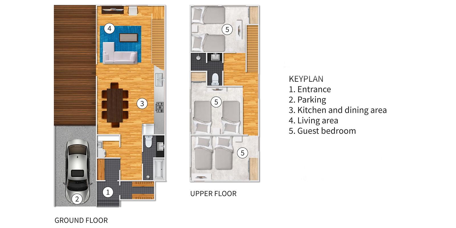 Ajisai Floor Plan | Hirafu, Niseko