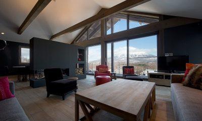 Akatsuki Living Room | Middle Hirafu Village, Niseko