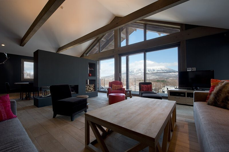 Akatsuki Living Room | Middle Hirafu Village, Niseko