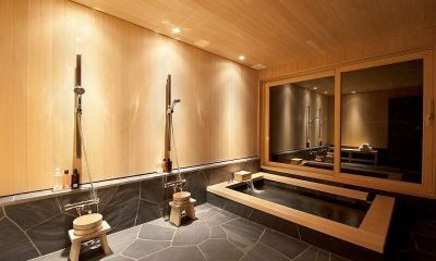 Akatsuki Bathroom | Middle Hirafu Village, Niseko