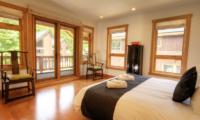 Asahi Lodge Bedroom with Seating Area | Hirafu, Niseko