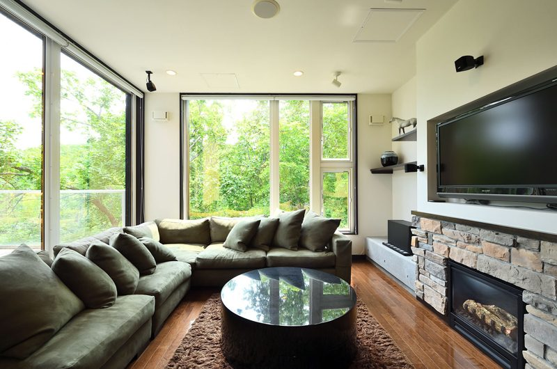 Big Valley Living Area | Hirafu, Niseko