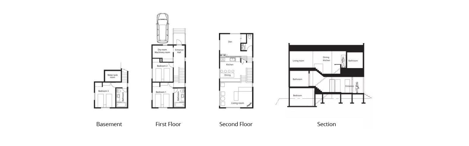 Birch Grove Floorplan | Hirafu, Niseko