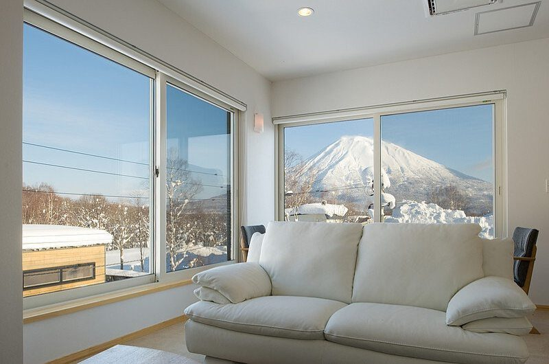 Birch Grove Living Room | Lower Hirafu Village, Niseko