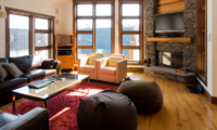 Eliona Living Area with TV | Lower Hirafu Village, Niseko