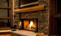 Eliona Fireplace Mantel | Lower Hirafu Village, Niseko