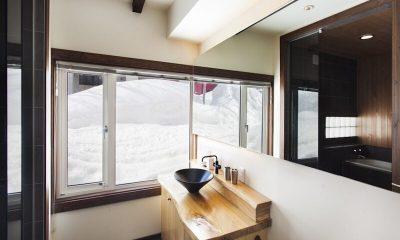 Ginsetsu Bathroom   Middle Hirafu Village, Niseko