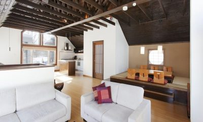 Ginsetsu Living Room   Middle Hirafu Village, Niseko