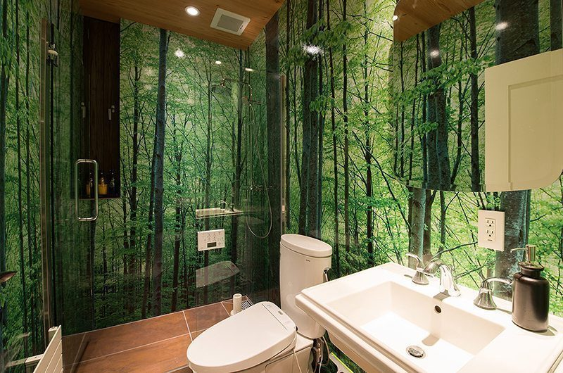 Gustav's Hideaway Bathroom | Lower Hirafu Village, Niseko