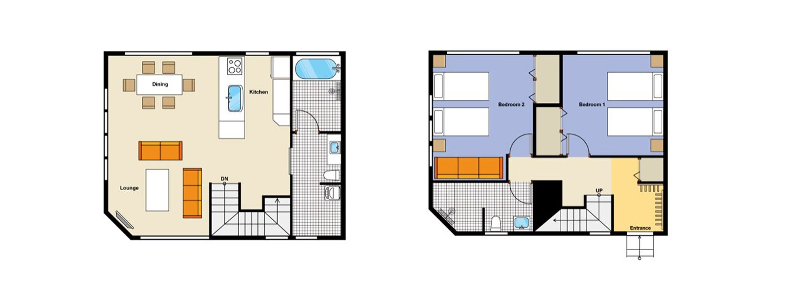 Hana and Jo Floorplan | Izumikyo 2, Niseko