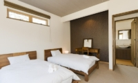 Hana & Jo Twin Beds | Hirafu Izumikyo 2, Niseko