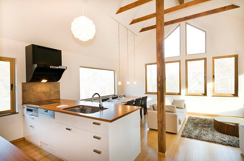 Hana & Jo Living And Dining Area | Hirafu Izumikyo 2, Niseko