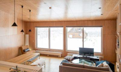 Heiwa Lodge Living Area | St Moritz, Niseko