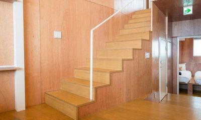 Heiwa Lodge Stair Case | St Moritz, Niseko