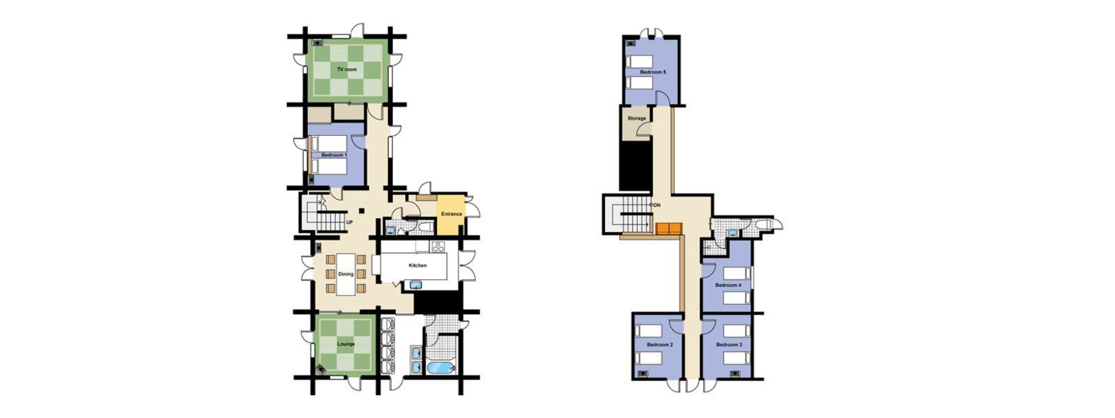Jindabyne Lodge Floorplan | Hirafu Izumikyo 1, Niseko