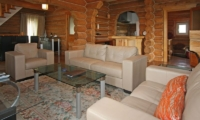 Kabayama Log House Living Room | Hirafu St Moritz, Niseko