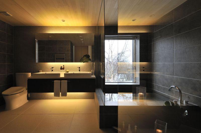 Kasetsu Bathroom | Lower Hirafu Village, Niseko