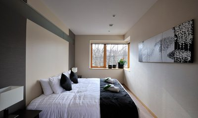 Kasetsu Bedroom Side | Hirafu, Niseko