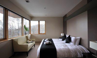 Kasetsu Bedroom with Seating | Hirafu, Niseko