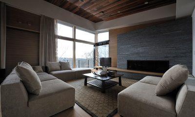 Kasetsu Living Area | Hirafu, Niseko
