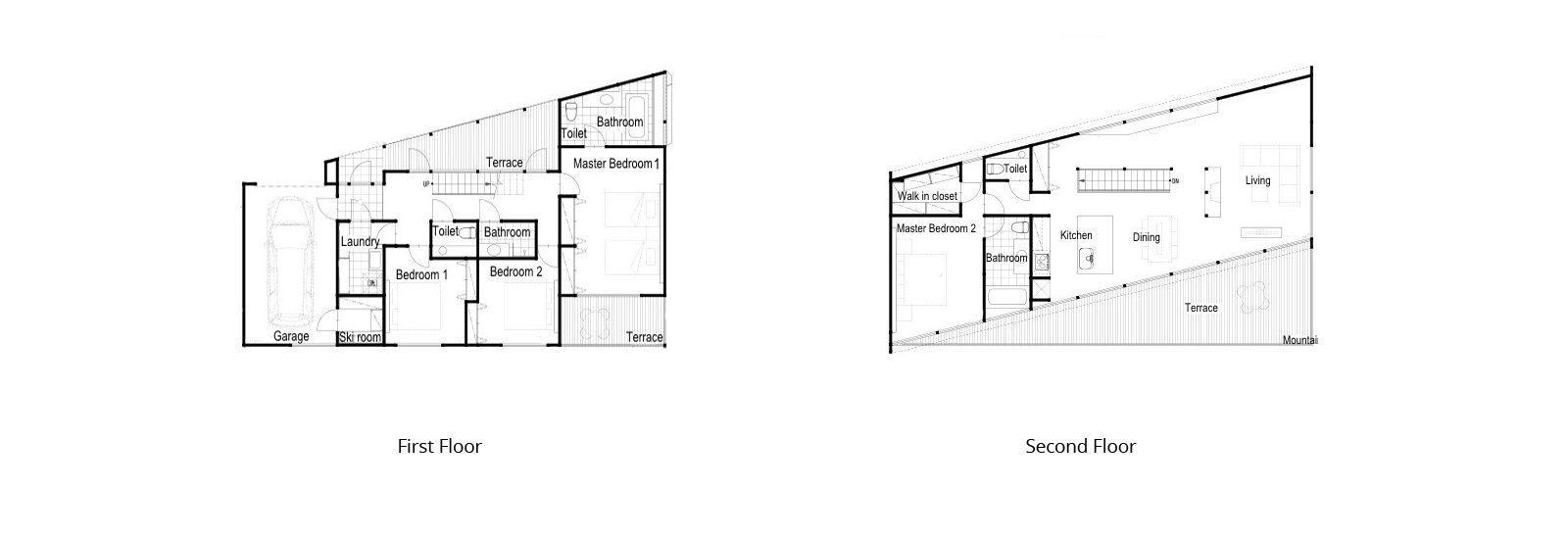 Kawasemi Residence Floorplan | Hirafu, Niseko